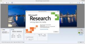 Enlarge Microsoft Image Composite Editor Screenshot
