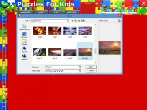 Enlarge Puzzles For Kids Screenshot