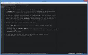 Enlarge Atom Screenshot