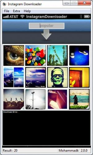 Enlarge Instagram Downloader Screenshot