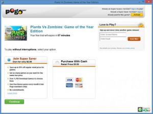 Enlarge Plants Vs Zombies Screenshot