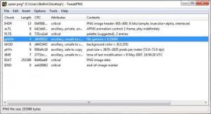 Enlarge TweakPNG Screenshot