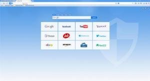 Enlarge Spark Security Browser Screenshot