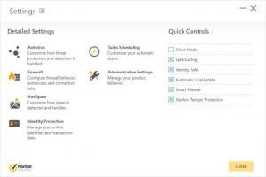 Enlarge Norton Security Screenshot