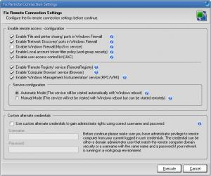 Enlarge ZOLA Connection Troubleshooter Screenshot