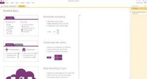 Enlarge OneNote Screenshot