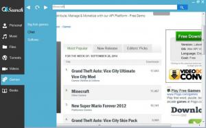 Enlarge Q4Search Screenshot