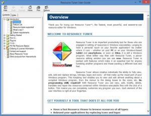 Enlarge Resource Tuner Screenshot