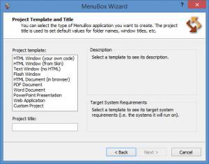 Enlarge MenuBox Screenshot