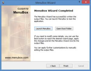 Enlarge MenuBox Screenshot
