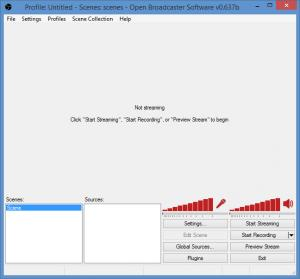 Enlarge Open Broadcaster Software Screenshot