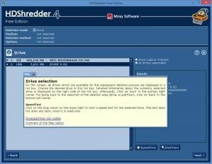 Enlarge HDShredder Screenshot