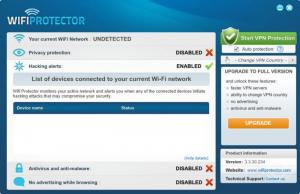 Enlarge WiFi Protector Screenshot