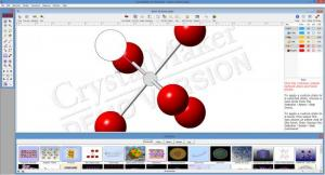 Enlarge CrystalMaker Screenshot