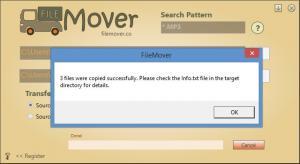 Enlarge FileMover Screenshot