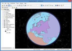 Enlarge ArcReader Screenshot