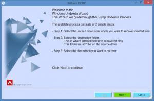 Enlarge BitBack Screenshot