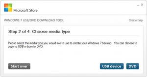 Enlarge Windows 7 USB/DVD Download Tool Screenshot