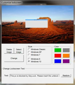 Enlarge KeyLock Screenshot