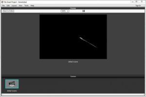 Enlarge GameSalad Creator Screenshot