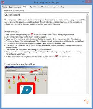 Enlarge PingHurry Screenshot