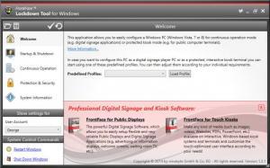 Enlarge FrontFace Lockdown Tool Screenshot