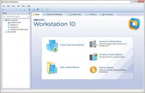 Enlarge VMware Workstation Screenshot