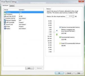 Enlarge VMware Workstation Screenshot
