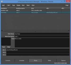 Enlarge InfoMan Screenshot
