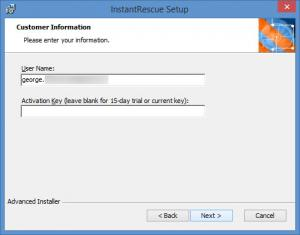 Enlarge InstantRescue Screenshot