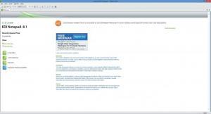 Enlarge EDI Notepad Screenshot