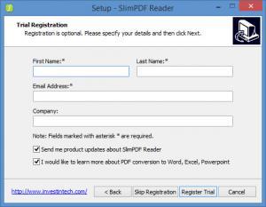 Enlarge Slim PDF Reader Screenshot