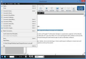 Enlarge Able2Extract PDF Converter Screenshot