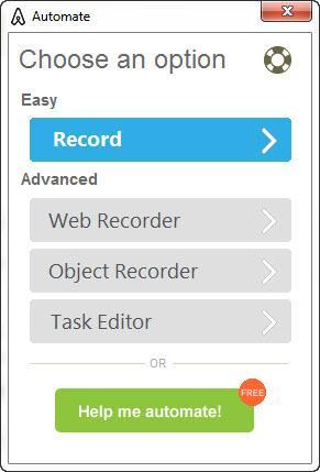 Enlarge Automation Anywhere Screenshot