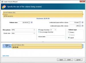 Enlarge Acronis Disk Director Screenshot
