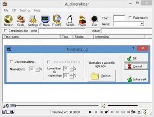 Enlarge Any Audio Grabber Screenshot