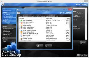 Enlarge Live Defrag Screenshot