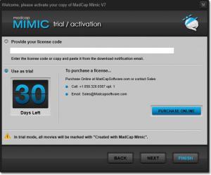 Enlarge MadCap Mimic Screenshot