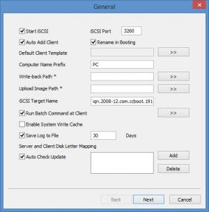 Enlarge CCBoot Screenshot