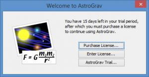 Enlarge AstroGrav Screenshot