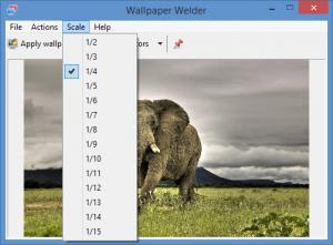Enlarge Wallpaper Welder Screenshot