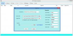 Enlarge DYY Video Converter Screenshot