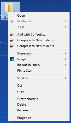 Enlarge CoffeeZip Screenshot