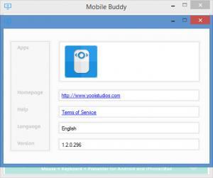Enlarge Mobile Buddy Screenshot