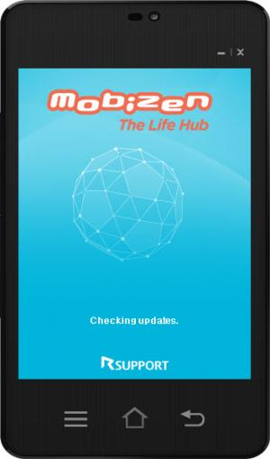 Enlarge Mobizen Screenshot