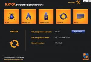 Enlarge KYROL Internet Security Screenshot