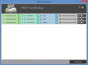Enlarge O&O AutoBackup Screenshot