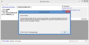 Enlarge ZeroTier One Screenshot