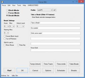 Enlarge Focus Me Screenshot
