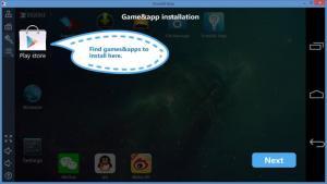 Enlarge Droid4x Screenshot